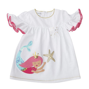 Mermaid Applique Dress