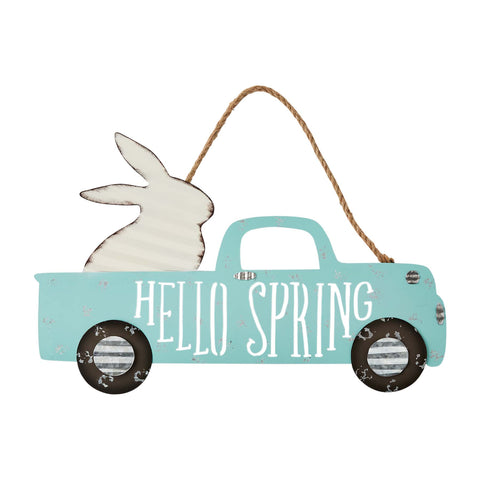 Hello Spring Easter Door Hanger