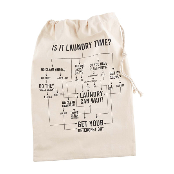 Flow Chart Laundry Tote