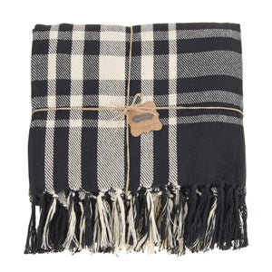 Black & White Checkered Blanket