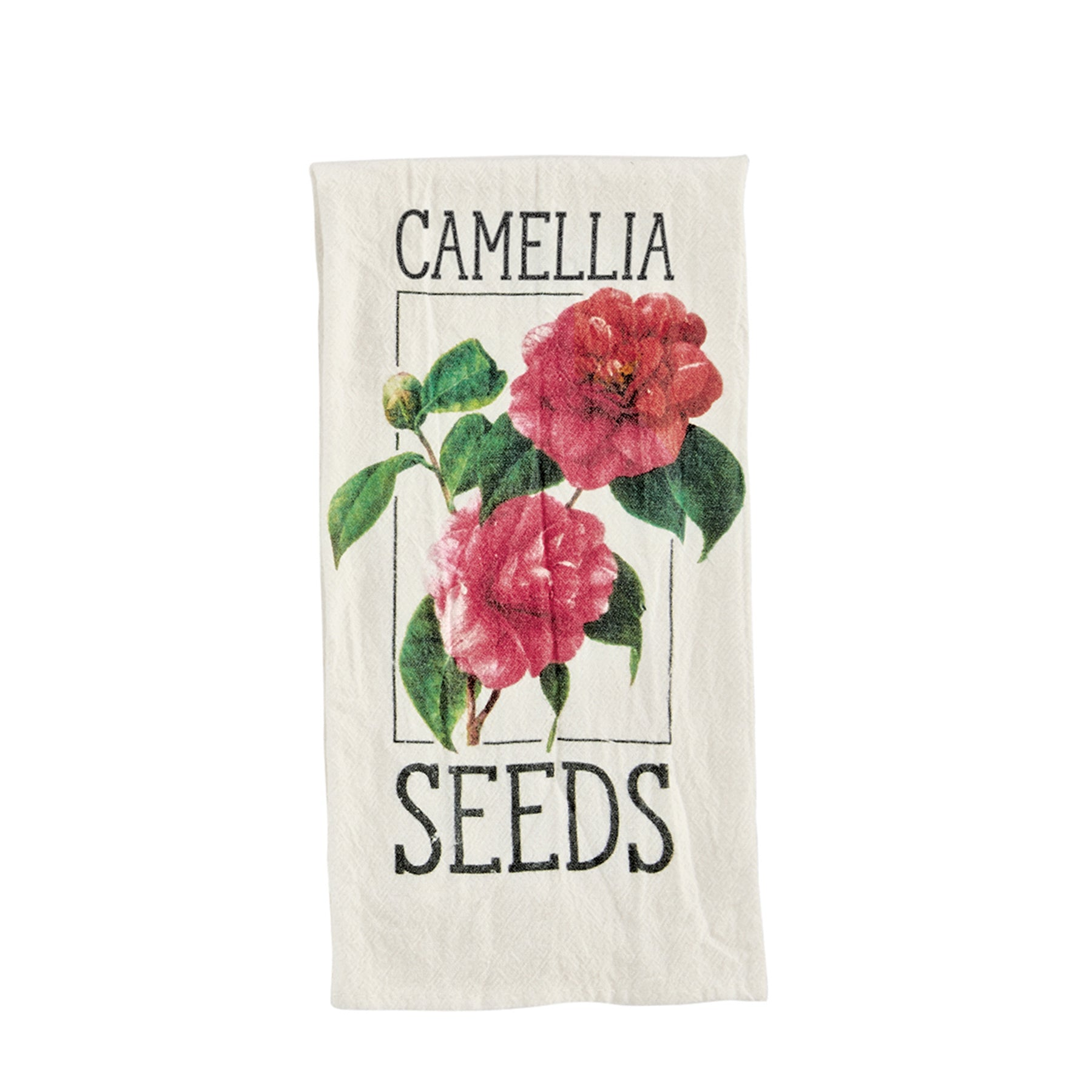 Camellia Seed Packet Towel