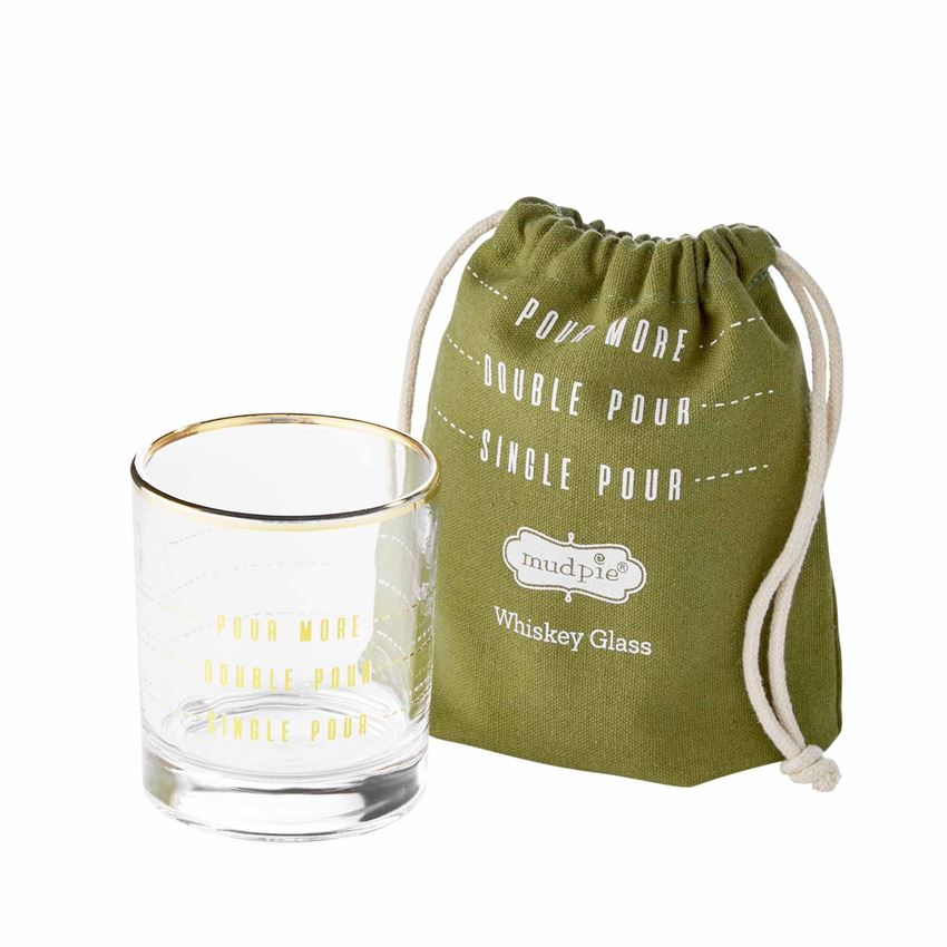 Pour Bagged Whiskey Glass