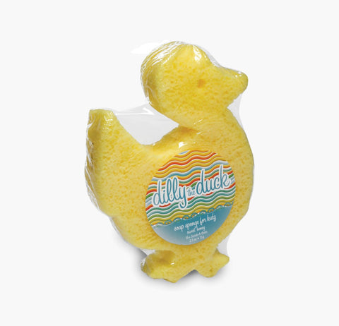 Dilly the Duck Shower Sponge