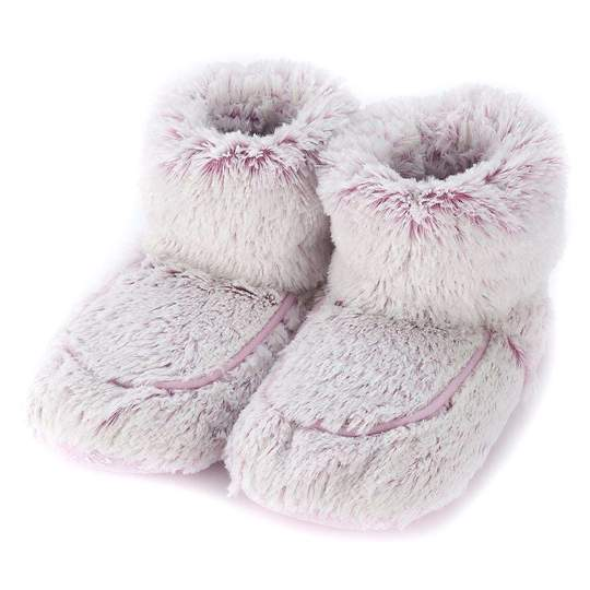 Warmies Marshmallow Pink Boots