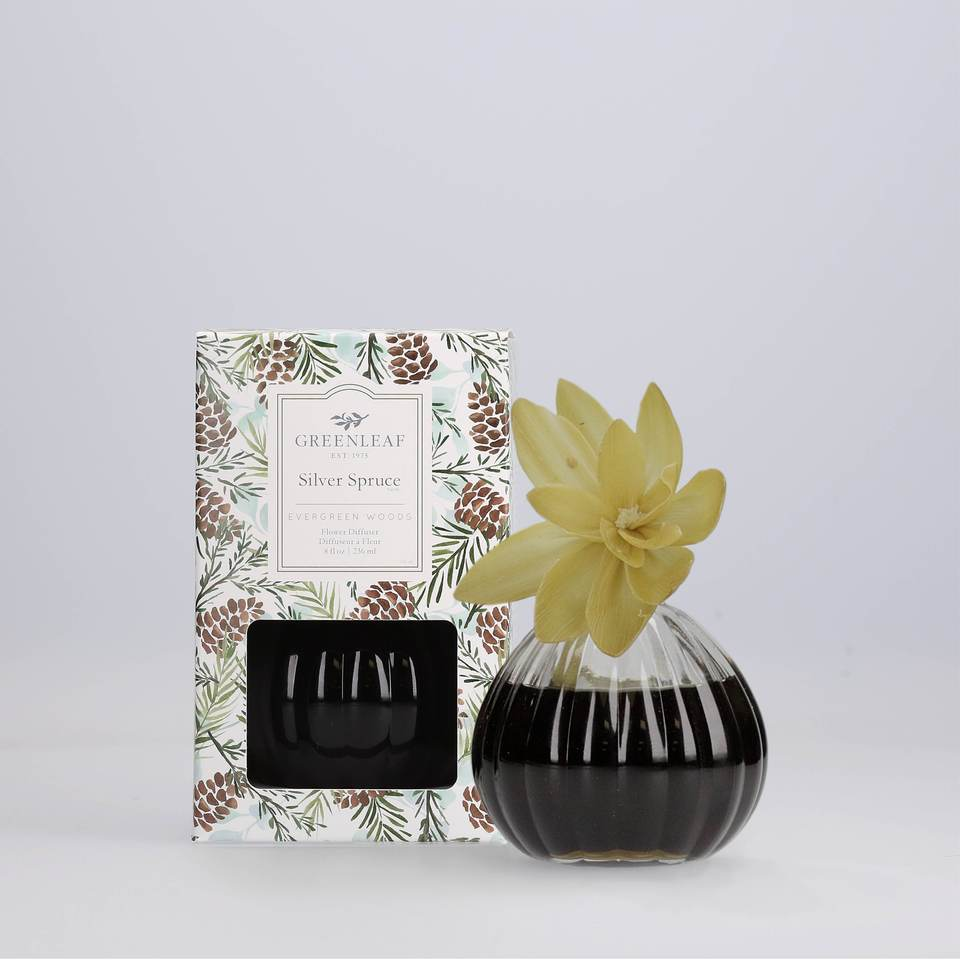 Silver Spruce Flower Diffuser