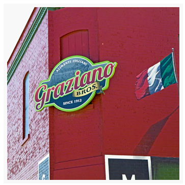 Coaster: Graziano Brothers Italian Grocery