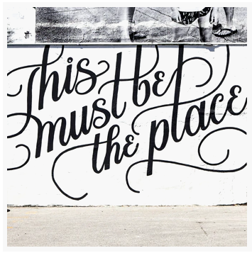 Coaster: This Must Be The Place Mural