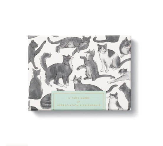 Cat Themed Boxed Note Cards