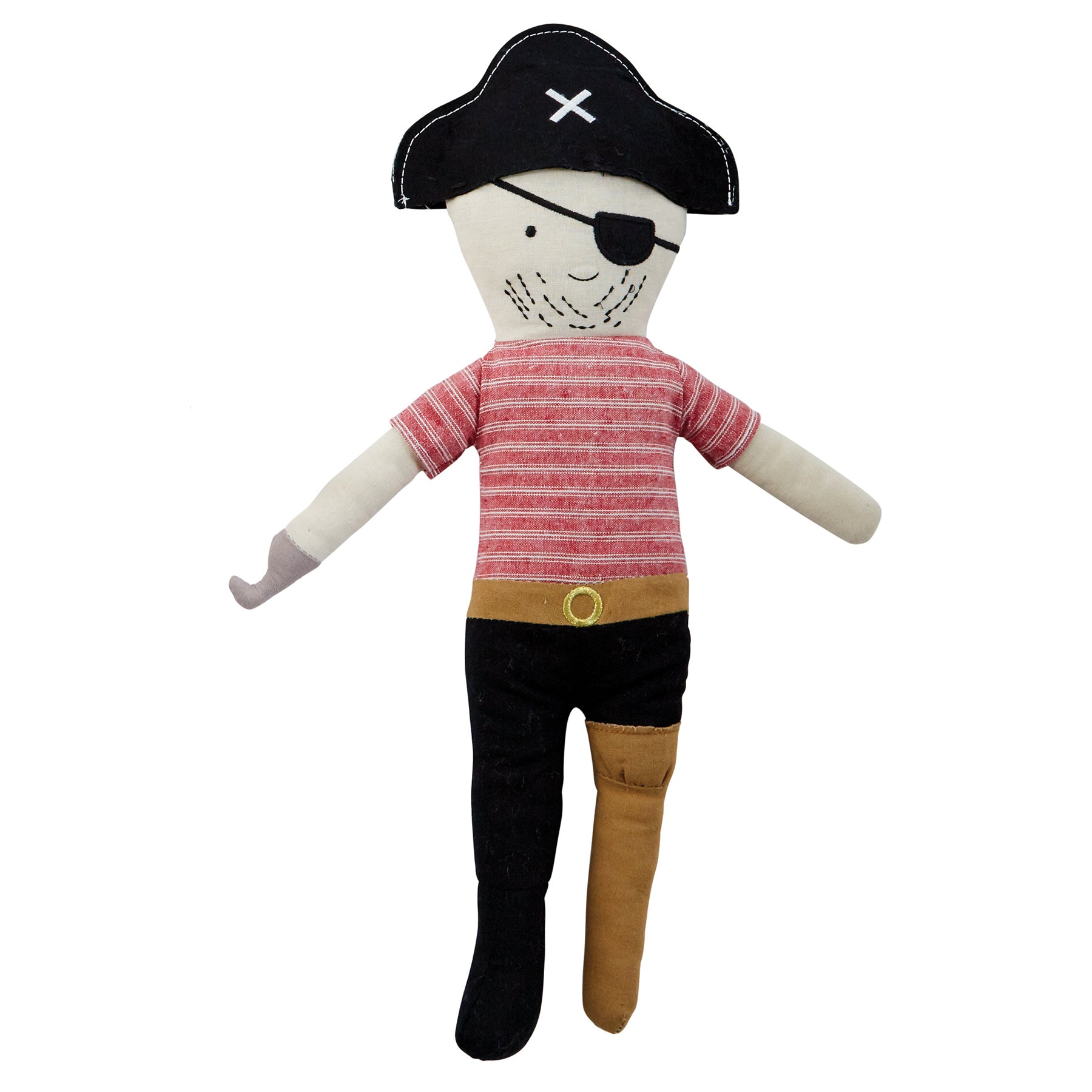 Bearded Pirate Doll