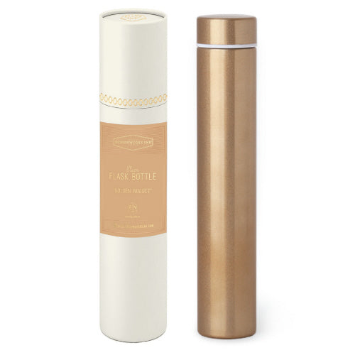 Slim Flask Bottle Gold