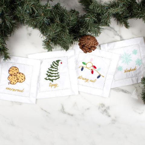 Holiday Fun Napkin Set Cloth