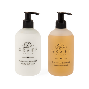 Buy Delaire Graff Estate Jardin de Delaire hand and body wash combo