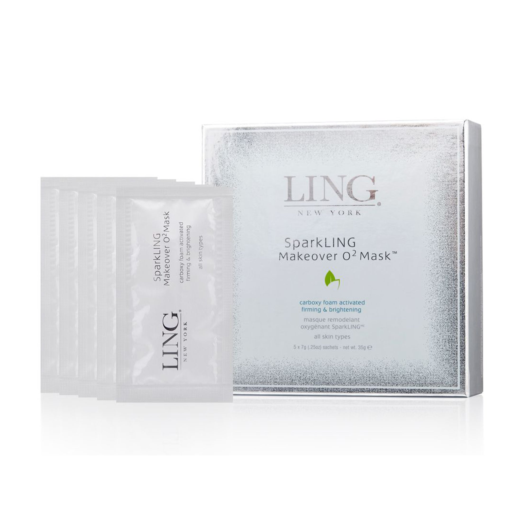 Purchase LING SparkLING Makeover O2 Mask from Delaire Graff Spa