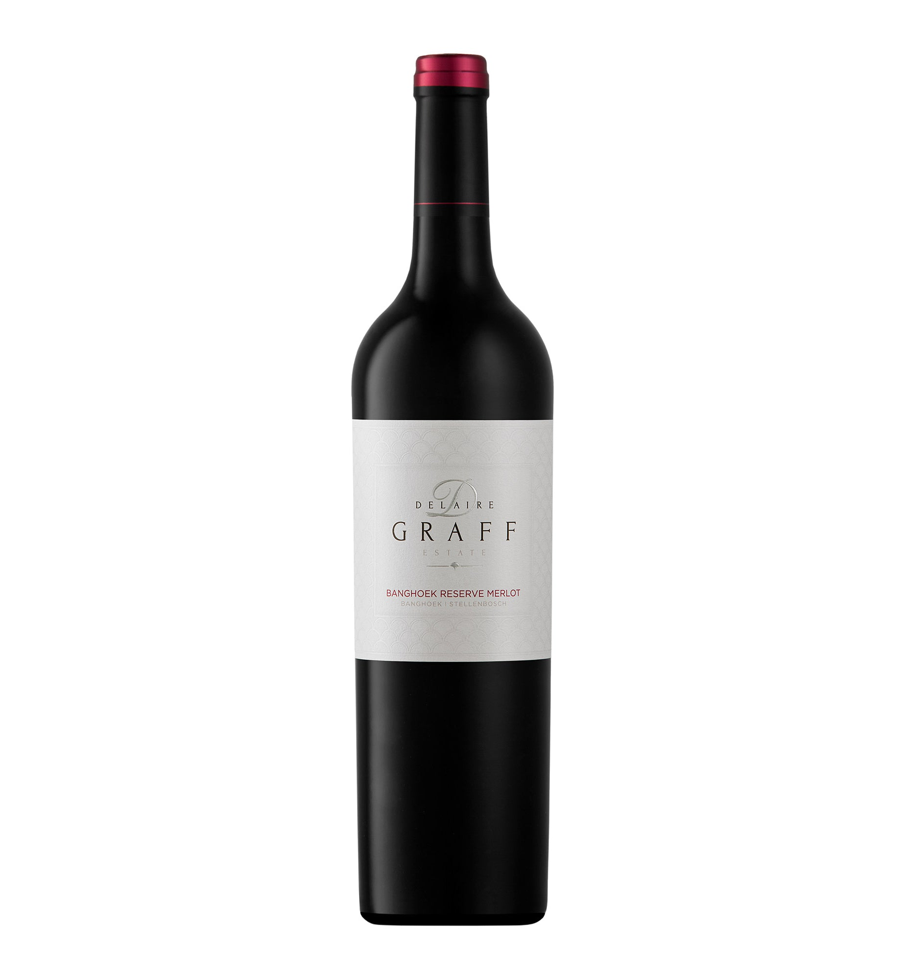 Buy banghoek reserve merlot red wine in South Africa from Delaire Graff Estate
