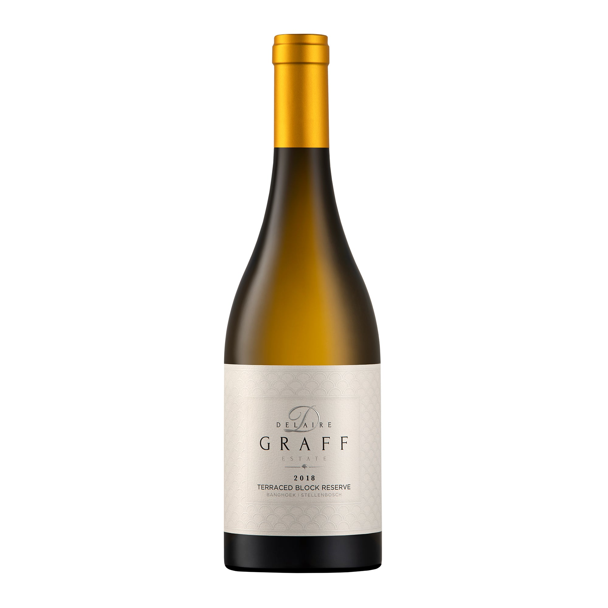 Delaire Graff Estate Icon Collection Case, Terraced Block Reserve Chardonnay 2018