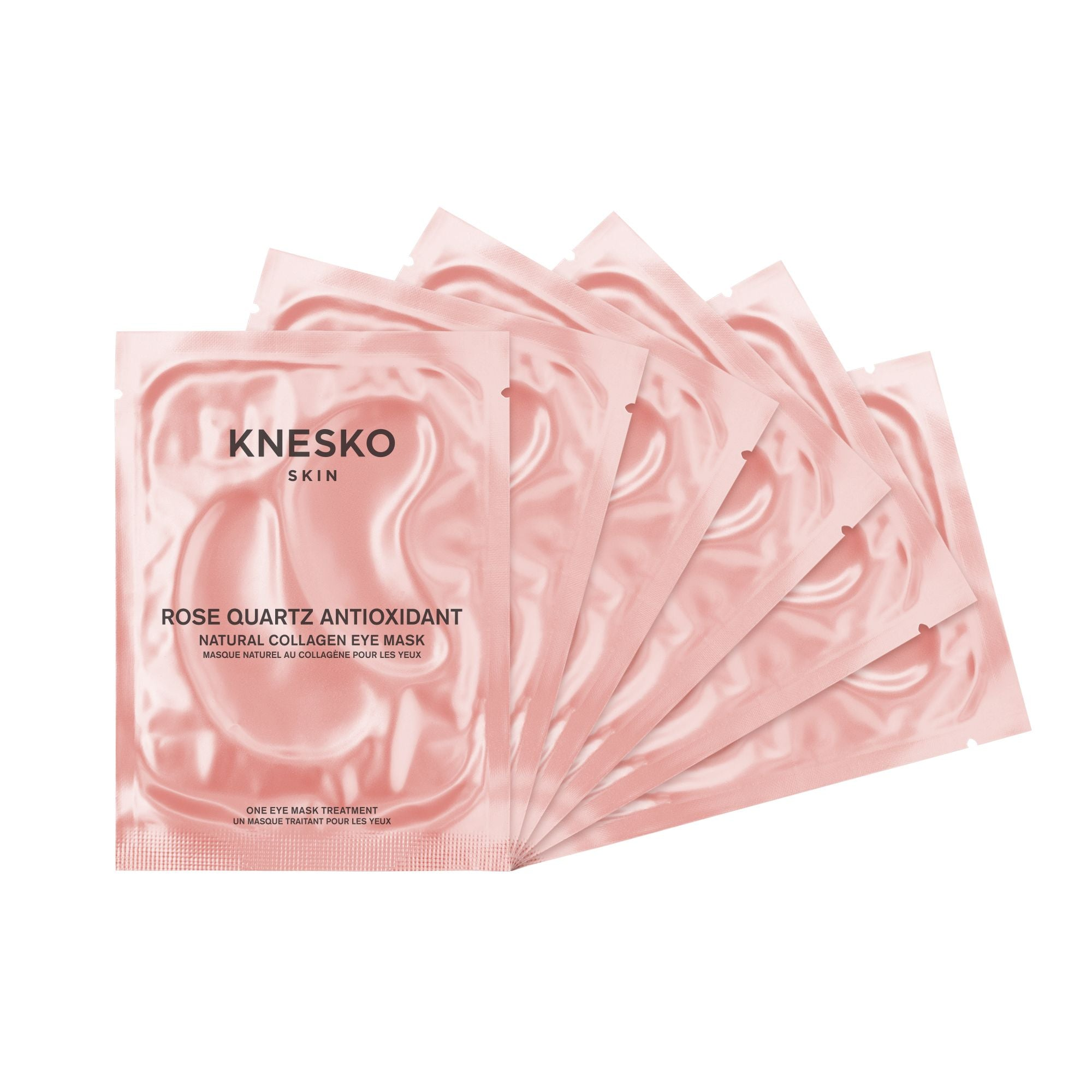 Buy Knesko Skin Rose Quartz Eye Mask Set from Delaire Graff Estate online store