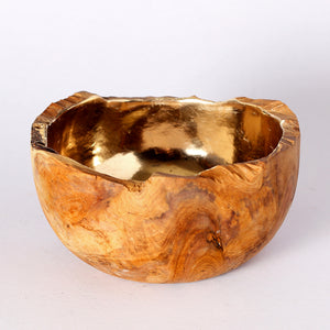 Delaire Graff Estate, Africa Nova-Michou, Gilded Wooden Bowl