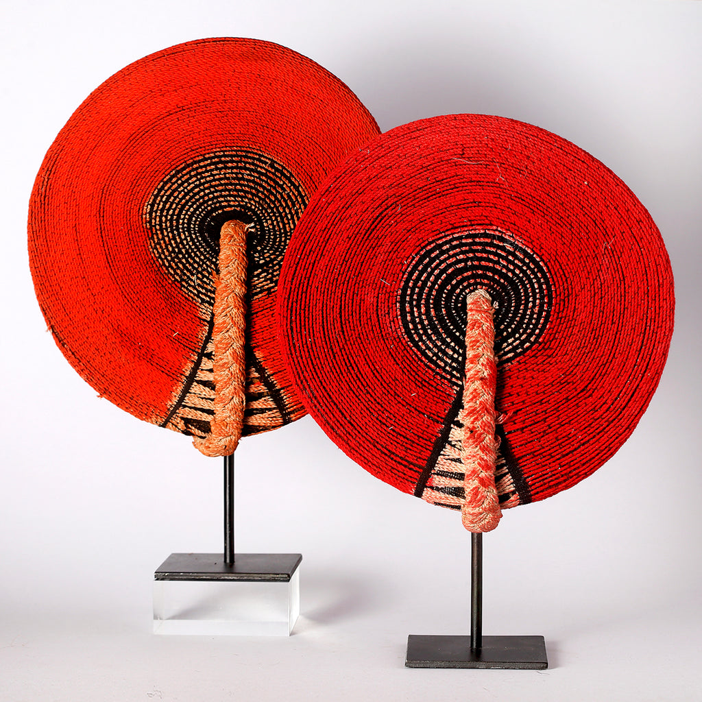 Delaire Graff Estate, Africa Nova-Zulu Isicholo (Married Woman's Hat)