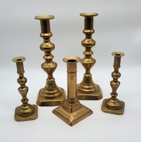 Solid Brass Candlesticks
