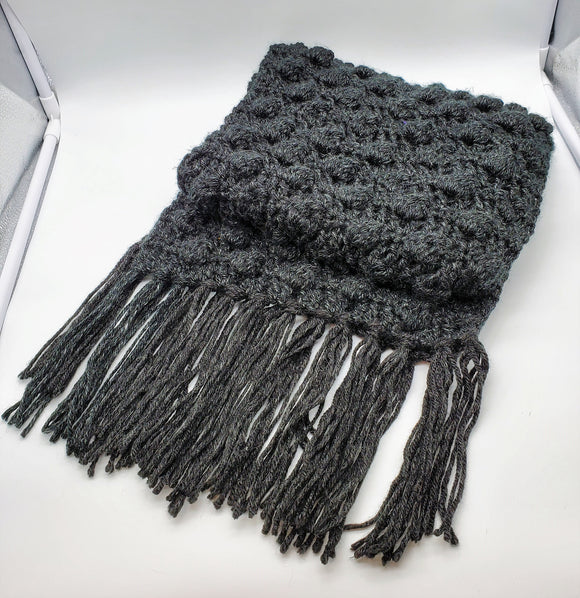Chunky Hand-knit Scarf