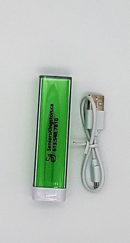 Seniors Centre Portable Phone Charger