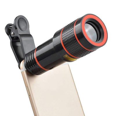 OptiZoom™ - Universal Superlens Phone Telescope