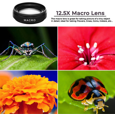 Apexel™ - HD 2 in 1 Wide Angle & Macro Lens