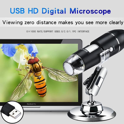 100x Magnification Microscope Camera
