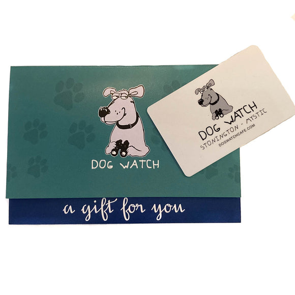 Dog Watch Gift Card