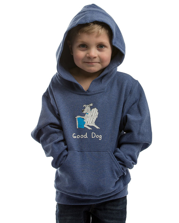 Wrapped in Love Youth Hoodie - Navy