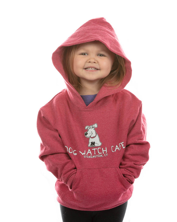 Wrapped In Love Youth Hoodie - Raspberry