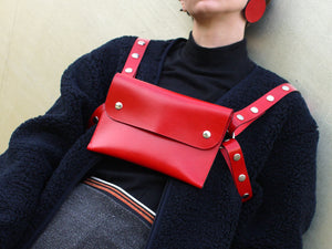 HARNESS BAG / Red