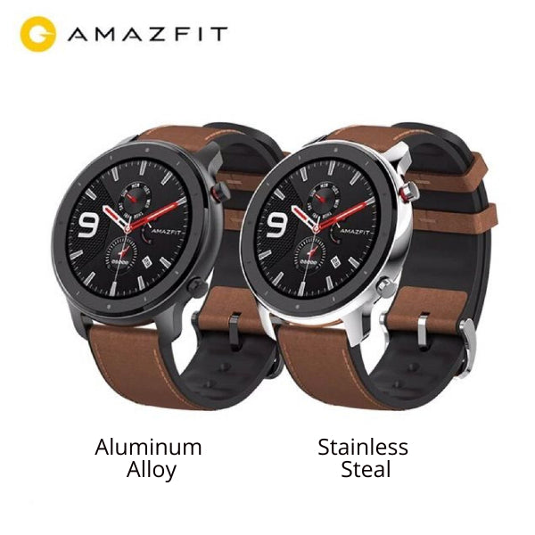 AMAZFIT GTR 47mm Smart Watch 5ATM Waterproof Global Version ( Xiaomi Ecosystem Product ) - Brown 47mm  (Pre-Order only)