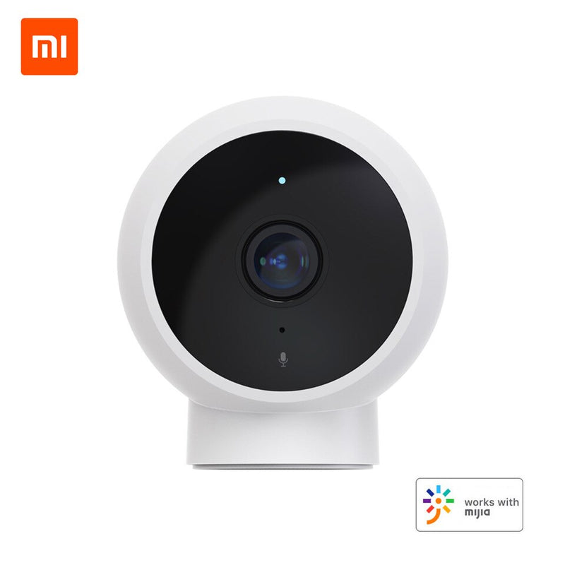 Xiaomi Mi Home Security Smart IP Camera | 1080p FHD - Magnetic Mount - 170° Super Wide Angle - Infrared Night Vision - Work With Mijia APP