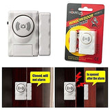 HomeLus Magnetic Sensor Window and Door Entry Exit Safety Security System - Saamaan.Pk