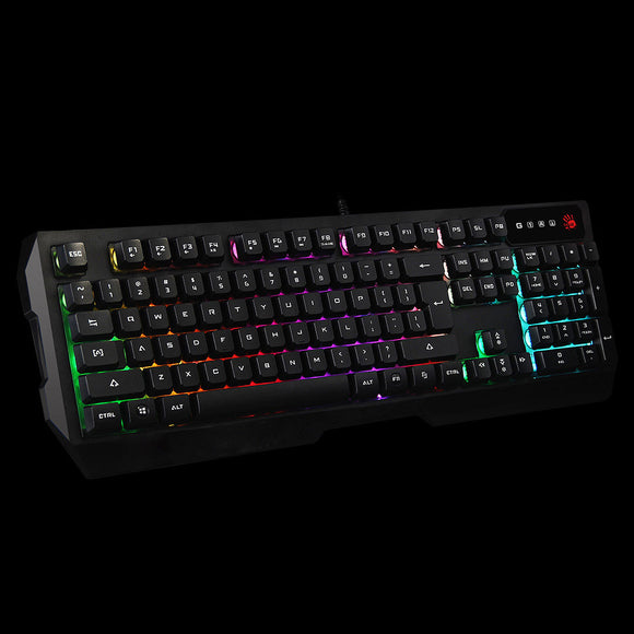 A4Tech Bloody Q135 Illuminating Gaming Keyboard. - Saamaan.Pk