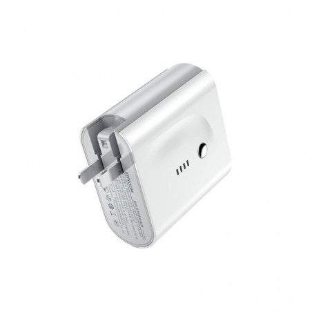 JOYROOM 2 in 1 Portable Phone Charger Travel Adapter with Power Bank 5000mAh