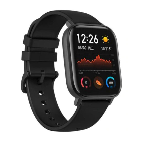 AMAZFIT GTS 1.65 inch AMOLED Display GPS Smart Watch 12 Sports Mode 5ATM Waterproof 14 Days Battery Life Global Version (Xiaomi Ecosystem Product) - Beige - Saamaan.Pk