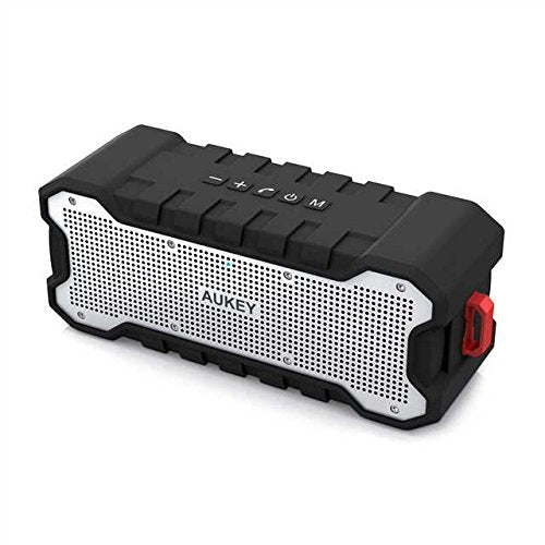 AUKEY Bluetooth Speaker with Outdoor Loud Sound, Waterproof IPX7, 30-Hour Playtime, Enhance Bass, Portable Wireless Bluetooth 4.2 Speakers for Home party camping. - Saamaan.Pk