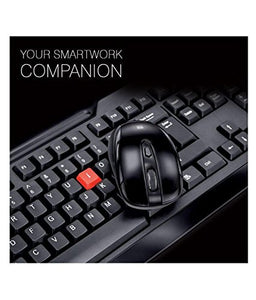 iBall Magical Duo Combo of KeyBoard and Mouse (Black) Wireless - Saamaan.Pk