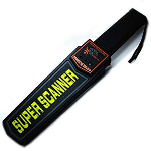 Super Scanner Hand Heldor Metal Detector with Beep Advanced Metal Detector - Saamaan.Pk