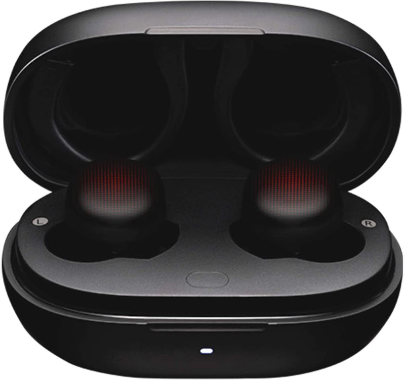 Amazfit PowerBuds True Wireless Earbuds, Sports Sound System, Heart Rate Monitoring, Noise Cancellation, Water Resistant, 8-Hours Battery Life, Dynamic Black