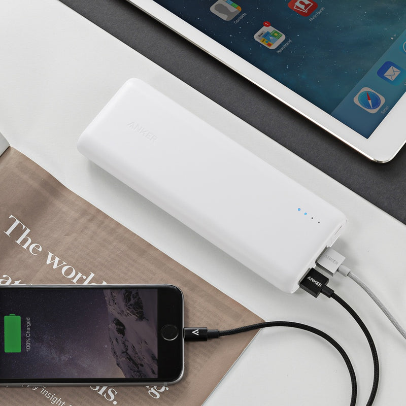 Anker PowerCore 20100mAh USB-C/Type-C Ultra-High-Capacity Premium Power Bank Power IQ and Voltage Boost - Saamaan.Pk