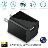 1080P HD  Mini USB Wall Charger Hidden Spy Camera - Saamaan.Pk