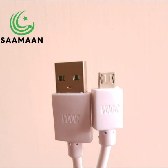 VOOC Fast Charging Micro USB Cable Flash charge data line (1m)