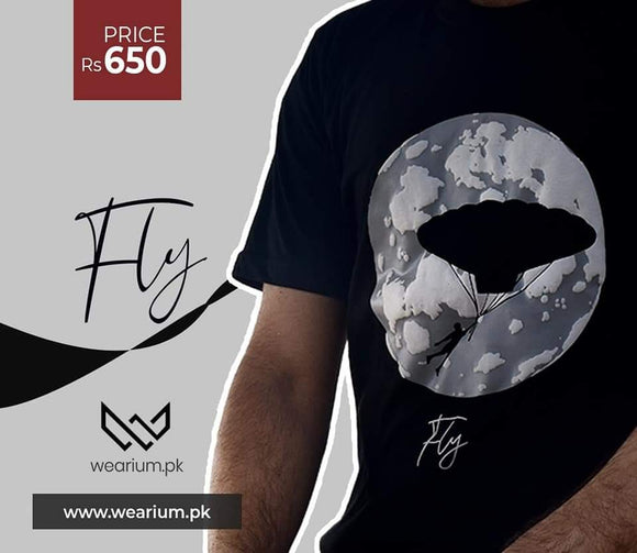 Fly T-Shirt - Saamaan.Pk