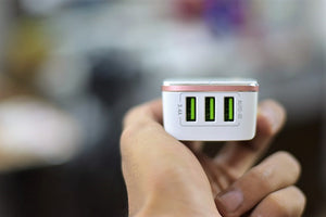 LDNIO 3USB charger (3.4A rapid charge) - Saamaan.Pk