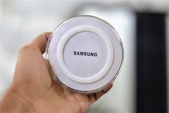 SAMSUNG wireless charger (C.O.P.Y) - Saamaan.Pk