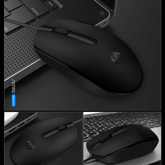 HP Wired Mouse M10 (Orignal) - Saamaan.Pk