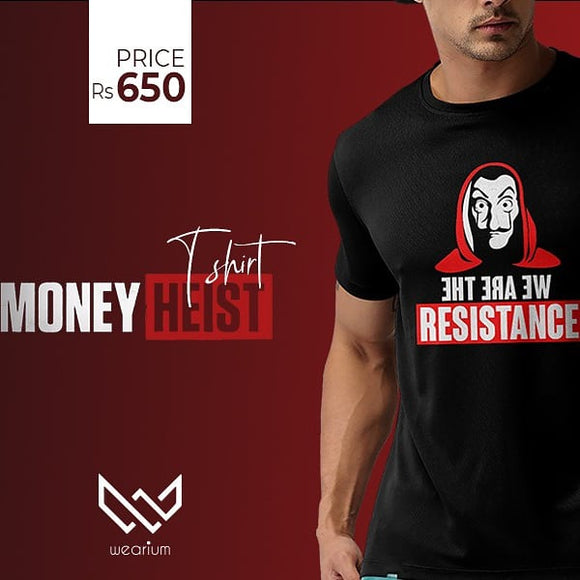 Money Heist T-Shirt - Saamaan.Pk
